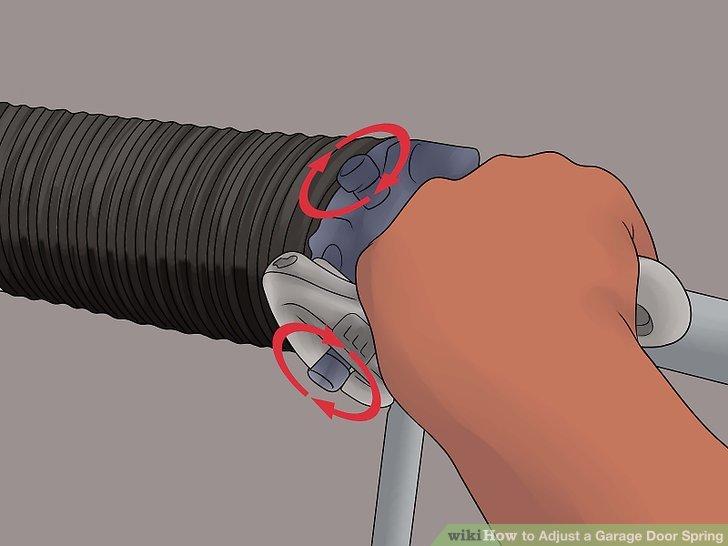 How To How To Adjust A Garage Door Spring