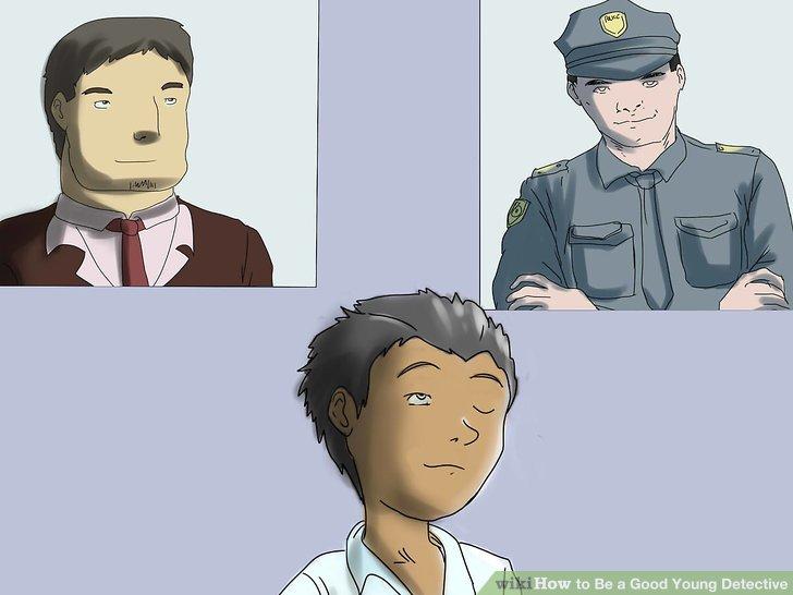 Erwägen Sie, Ihre detektivischen Fähigkeiten in einer zukünftigen Karriere einzusetzen.