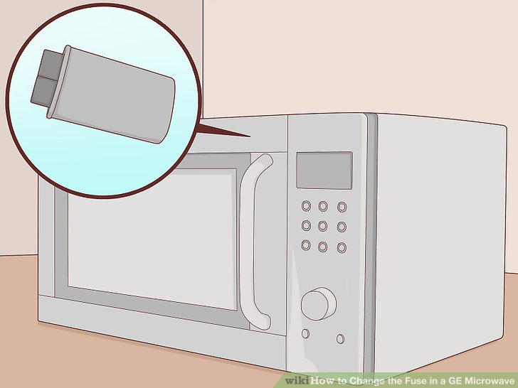ge electric oven wiring diagram entity relationship visual paradigm how to change the fuse in a microwave with pictures wikihow image titled step 1