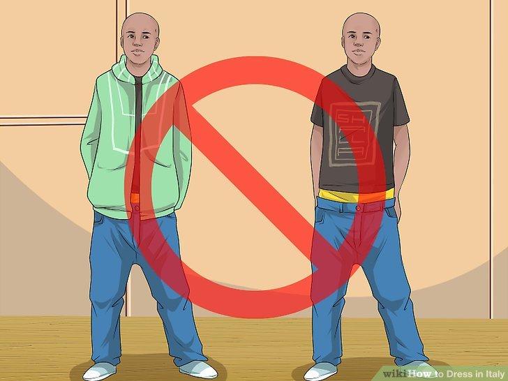 Vermeiden Sie die häufigsten touristischen Looks.