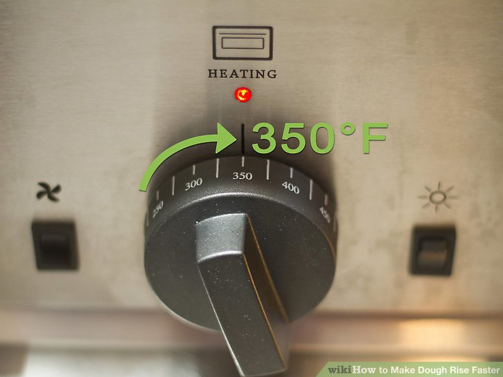Wärmen Sie Ihren Ofen auf die Temperatur vor, bei der Sie das Brot backen.