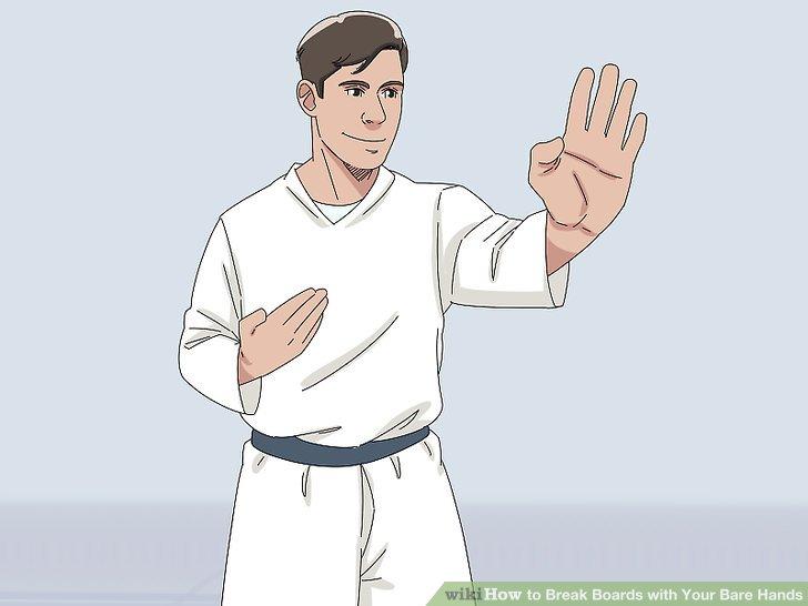 Verwenden Sie einen Handballen-Fersenanschlag für Ihre erste Boardpause.