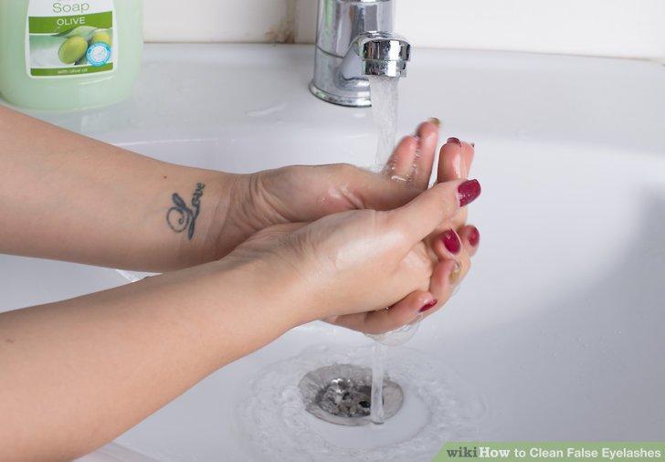 Wasche deine Hände.