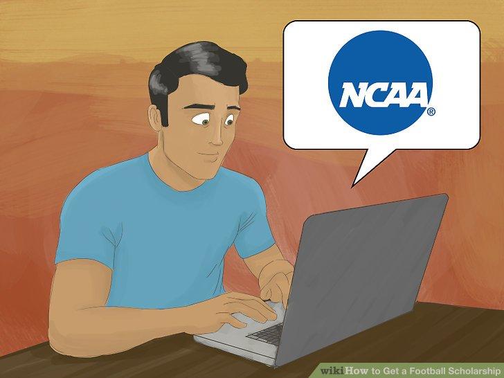 Registrieren Sie sich bei der NCAA.