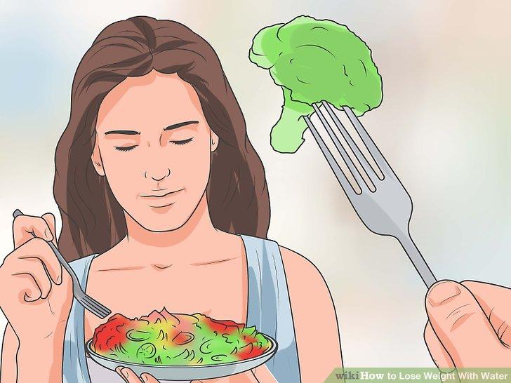 Essen Sie wasserreiche Nahrung während der Diät.