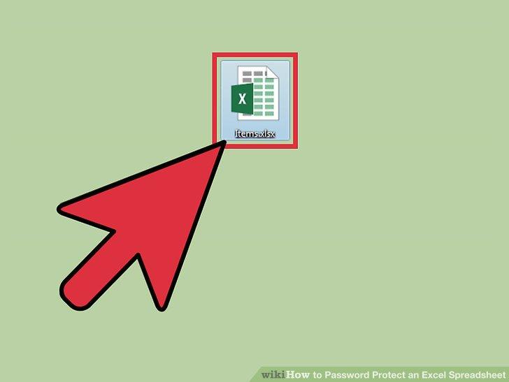 Öffnen Sie Ihr Excel-Dokument.
