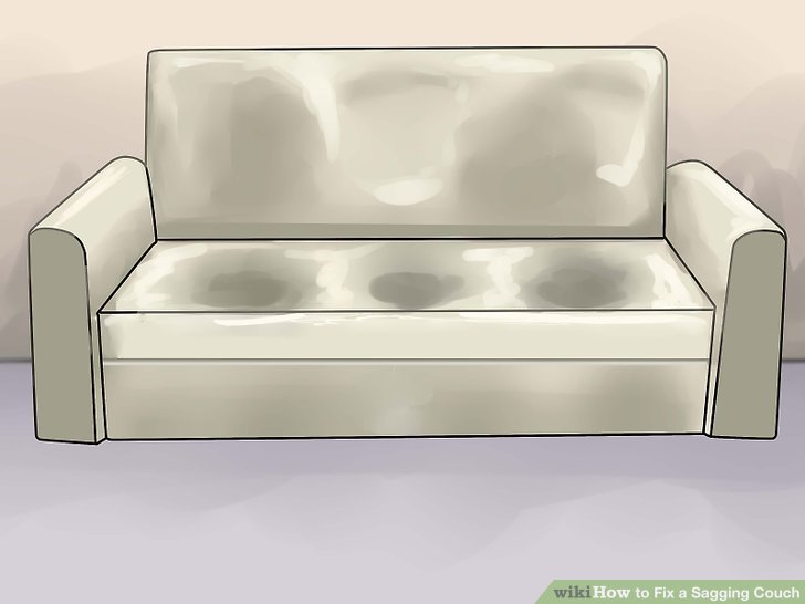 best way to fix a sofa bed modern italian leather sectional how sagging couch 14 steps with pictures wikihow image titled step 1