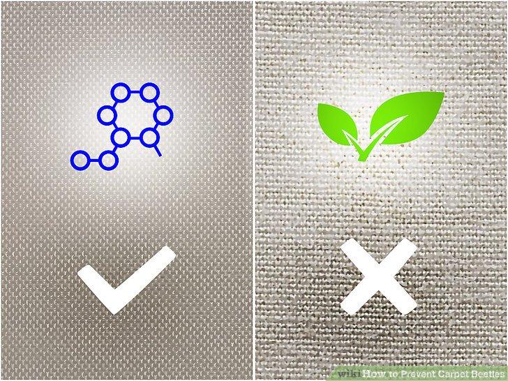 Wählen Sie nach Möglichkeit synthetische Materialien gegenüber organischen Stoffen.