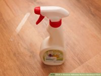 4 Ways to Remove Adhesive from a Hardwood Floor - wikiHow