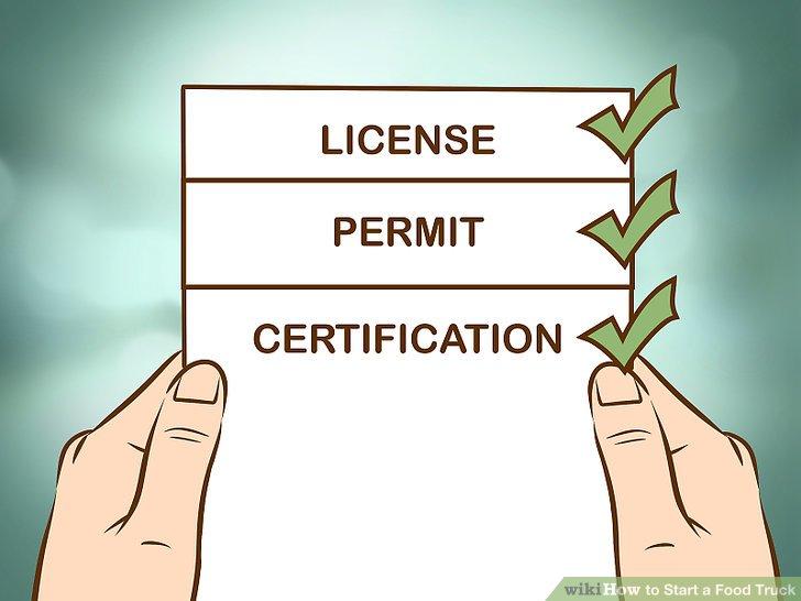 Beantragen Sie Lizenzen, Genehmigungen und Zertifikate.