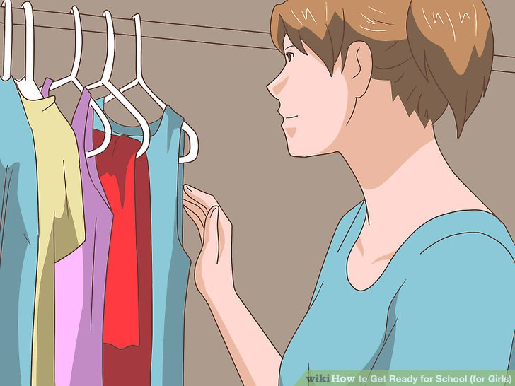 How to Get Ready for School for Girls with Pictures  wikiHow