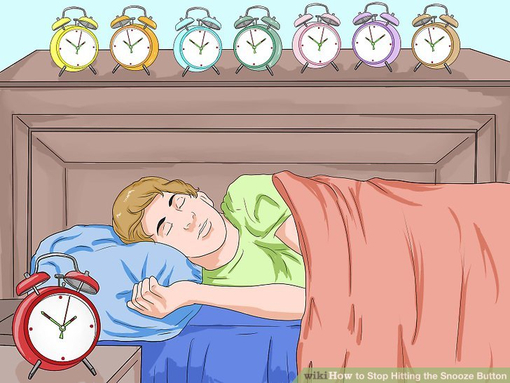 How to Stop Hitting the Snooze Button 10 Steps with