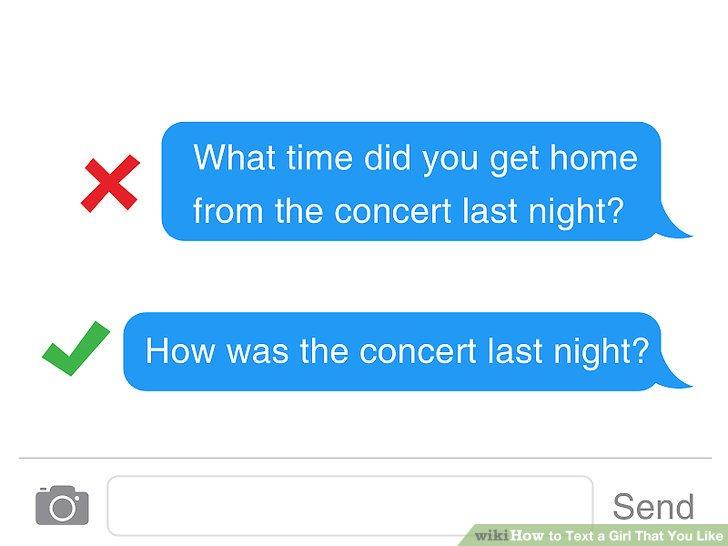 Stellen Sie eine gute Frage.