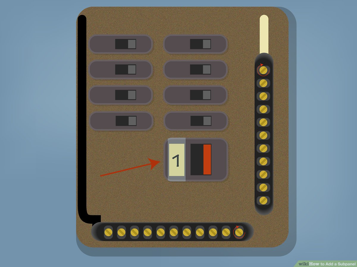 hight resolution of how to wire 100 sub panel diagram wiring