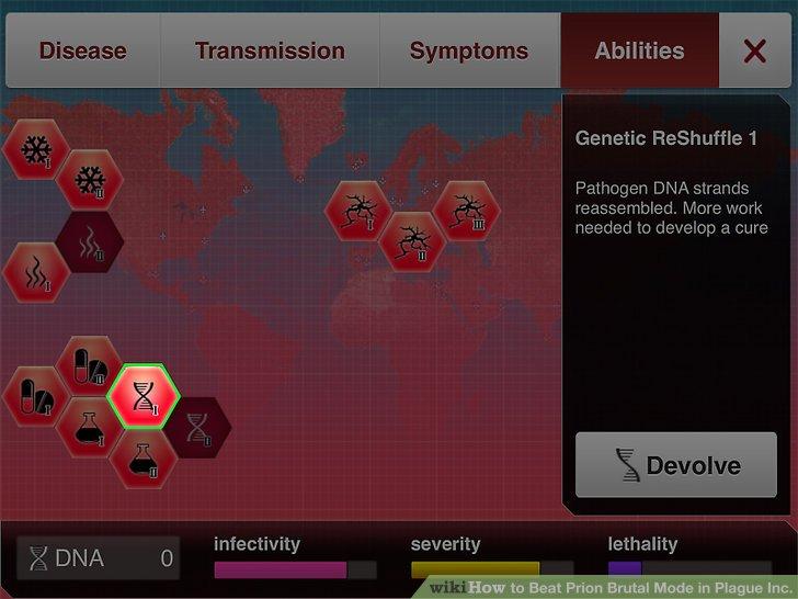 """Entwickle die Fähigkeit """"Genetic Reshuffle""""."""