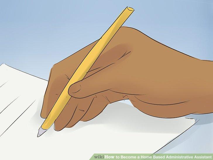 Schreiben Sie einen Lebenslauf, der Ihre Ausbildung und Erfahrung unterstreicht.