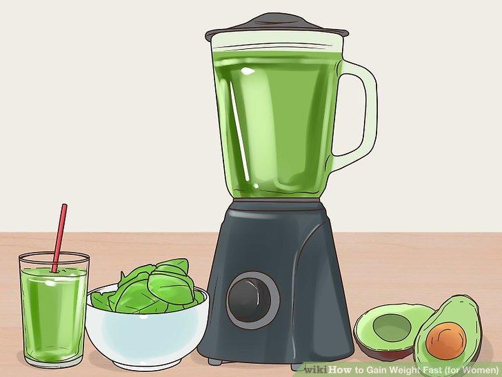 Trinken Sie mehr von Ihrem Essen, wenn Sie mit festen Mahlzeiten zu kämpfen haben.