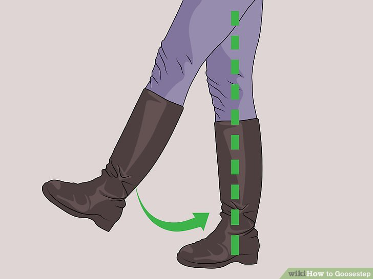 Bringen Sie Ihren linken Fuß wieder auf den Boden.