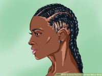 4 Ways to Grow Your Natural Hair (Black Girls) - wikiHow