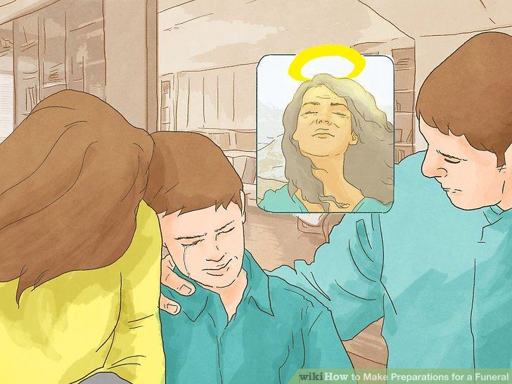 Sprechen Sie mit Ihrem Kind über die Beerdigung.