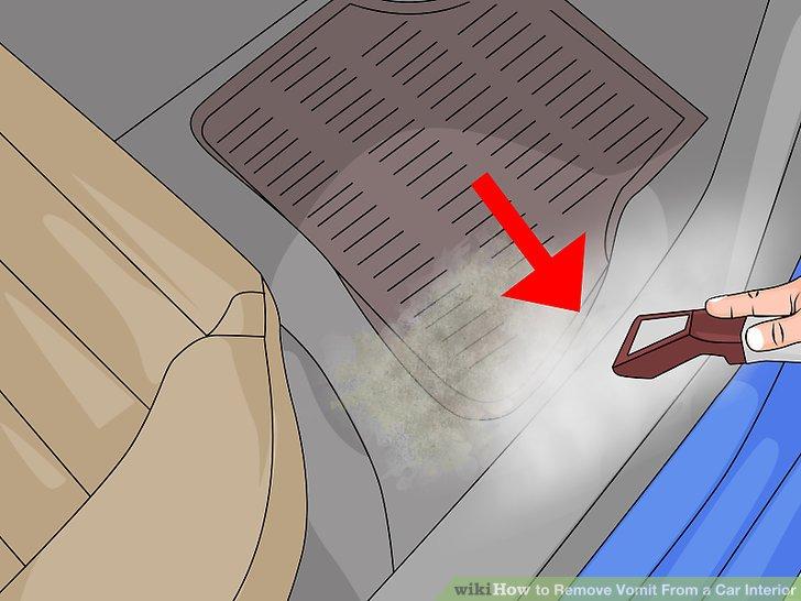 Mieten Sie einen Dampfreiniger für hartnäckige Flecken.