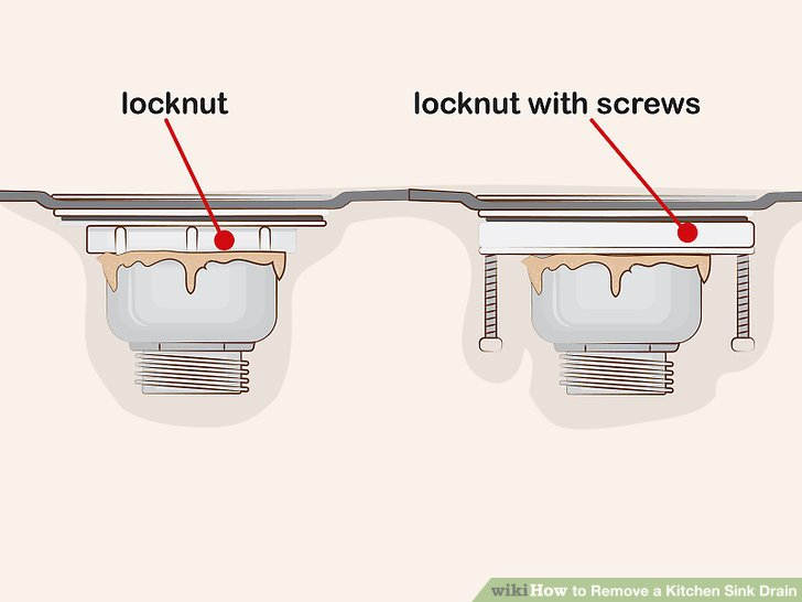 kitchen sink drain nice knives how to remove a 13 steps with pictures image titled step 3