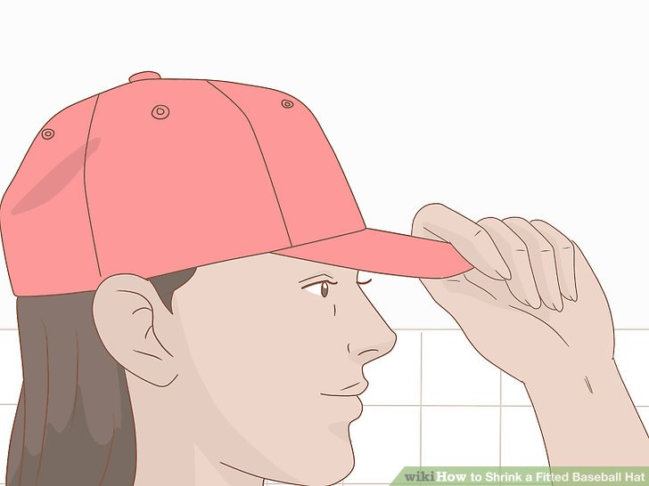 Put on the fitted cap you want to shrink.