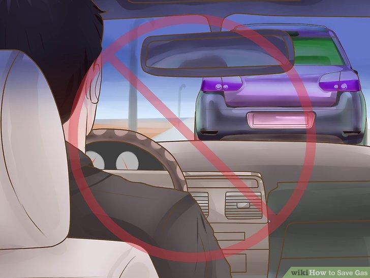 Vermeiden Sie das Anfahren und das ständige Bremsen.