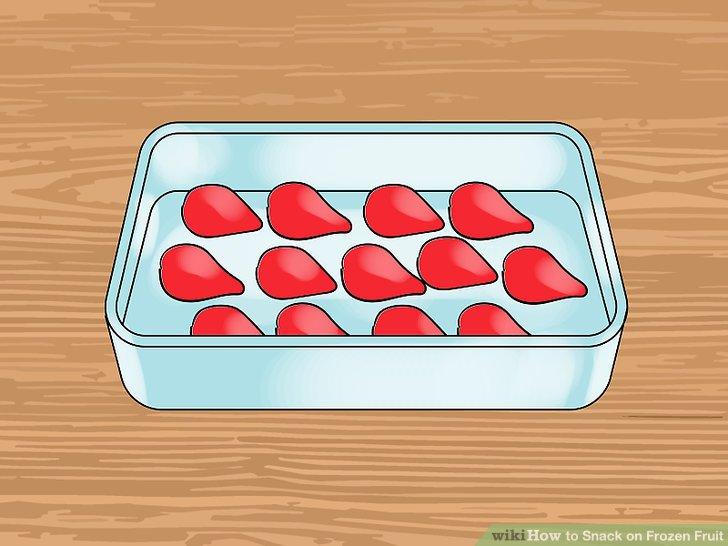 Joghurt-Erdbeeren zubereiten.