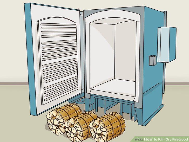 Übertragen Sie die Bündel in den Trockenbereich des Ofens.