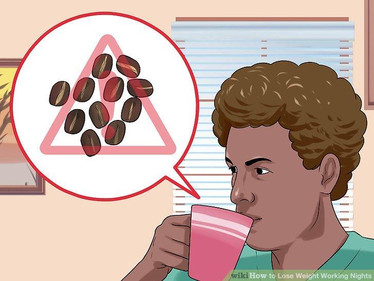Begrenzen Sie den Koffeinkonsum am Ende jeder Schicht.
