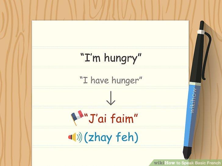 """Erfahren Sie, wie das Verb """"haben"""" auf Französisch verwendet wird."""