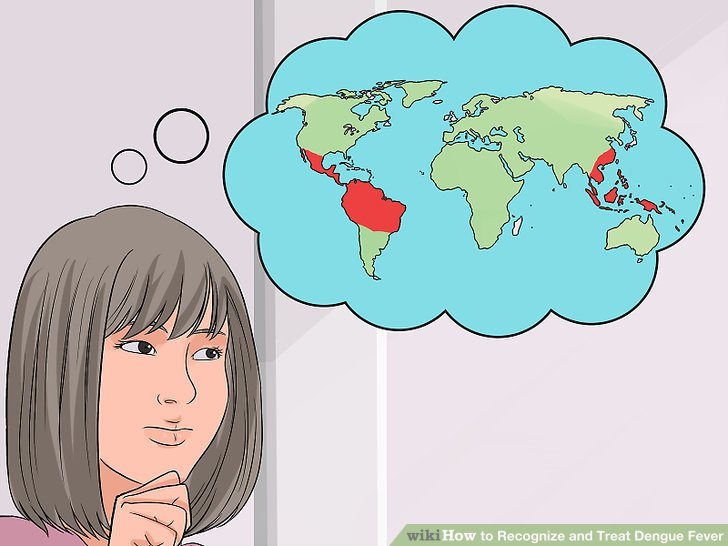 Berücksichtigen Sie die geographischen Grenzen des Dengue-Fiebers.