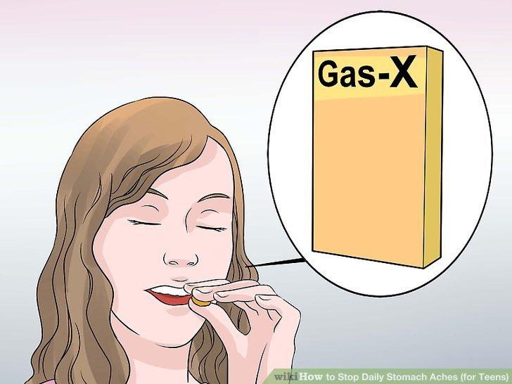 Beseitigen Sie Lebensmittel, die Gas verursachen.