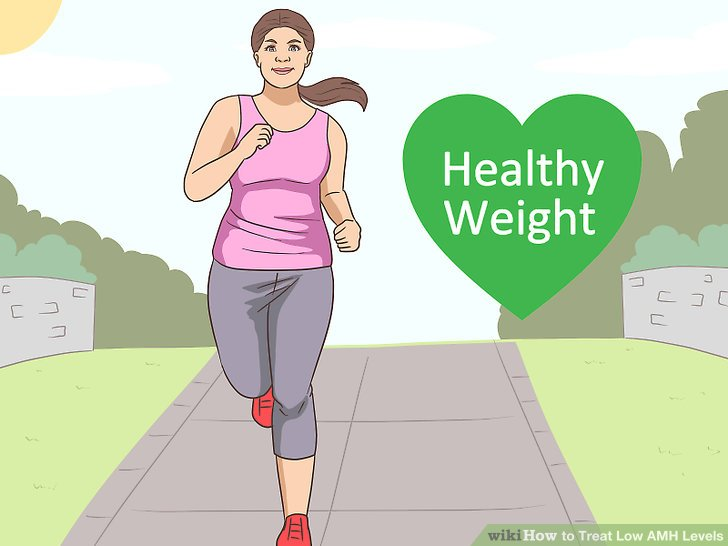 Exercise to reach a healthy weight.