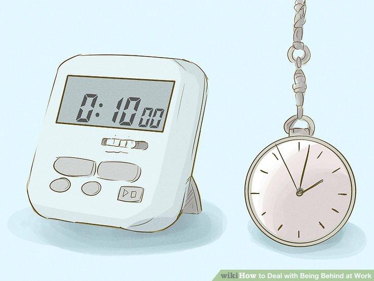Stellen Sie einen Timer ohne Unterbrechungen ein.