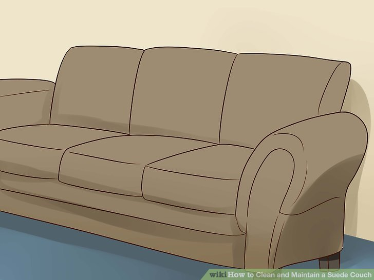 natural sofa deodorizer inexpensive sectional sofas 4 ways to clean and maintain a suede couch wikihow image titled step