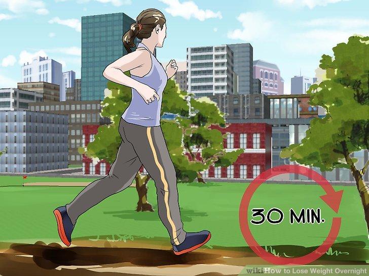 Machen Sie ein 30-minütiges Cardio-Training.