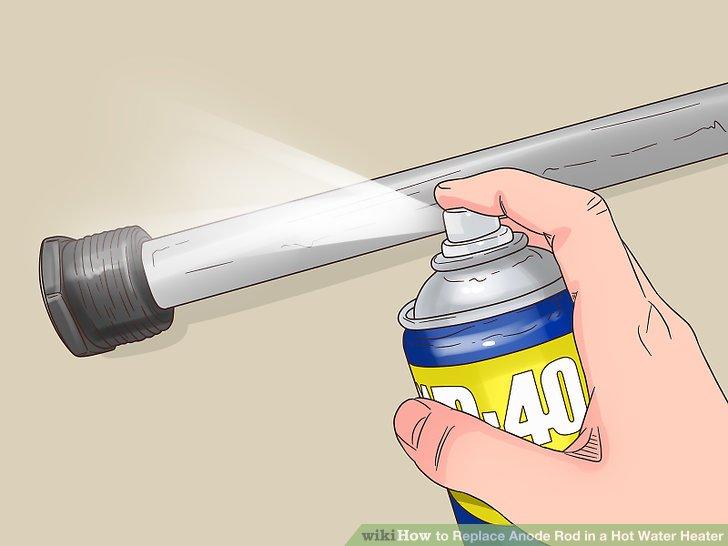 Es wäre hilfreich, etwas Schmiermittel wie WD-40 um den Sechskantkopf der Stange zu sprühen und es einige Minuten einwirken zu lassen, bevor Sie versuchen, die Stange zu lösen.