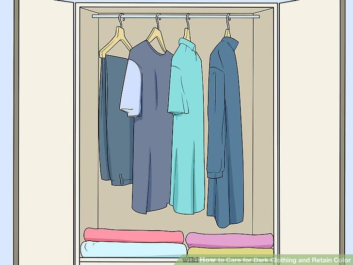 Bewahren Sie Ihre Kleidung ordnungsgemäß auf.