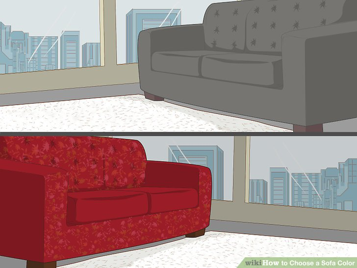 small living room sofa color design sofabord brugt how to choose a 10 steps with pictures wikihow image titled step 3