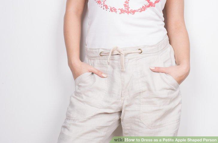 Wählen Sie eine Hose mit gutem Schnitt.
