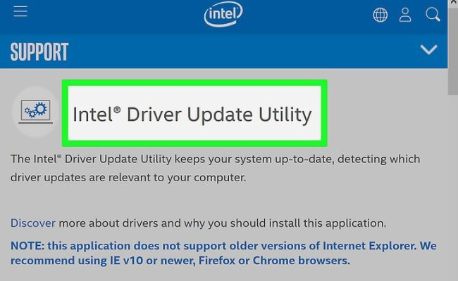 6 Ways To Find And Update Drivers Wikihow