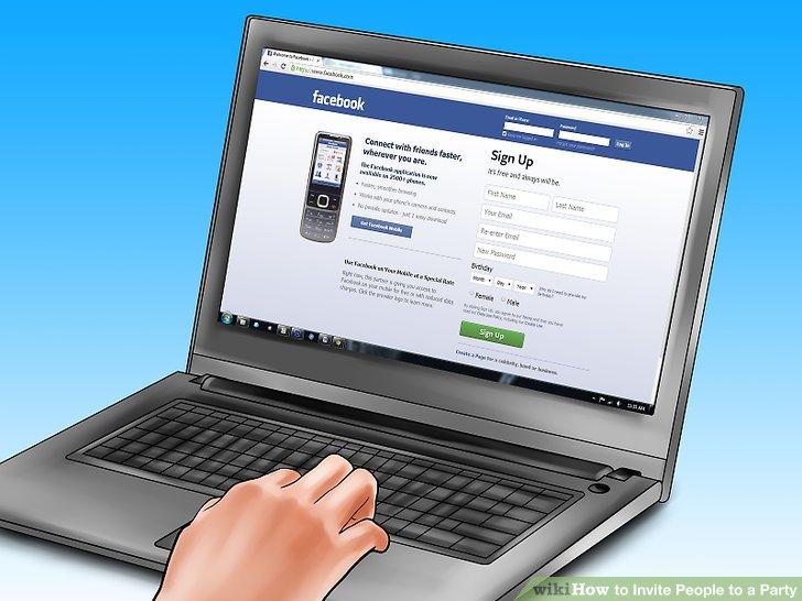 Wählen Sie eine Social-Media-Plattform, die die meisten Ihrer Freunde und Bekannten verwenden.