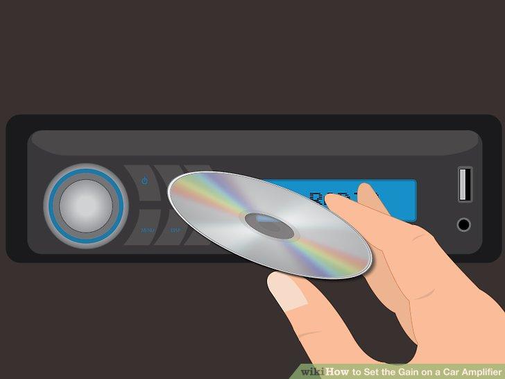 Spielen Sie den Testton über Ihre Stereoanlage.
