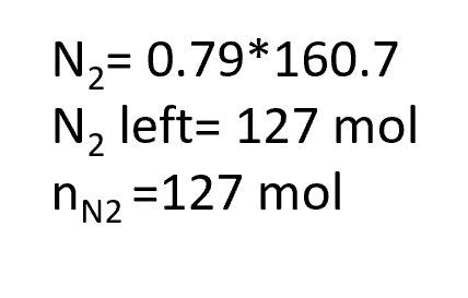 How to Calculate Molar Fractions of the Product Stream