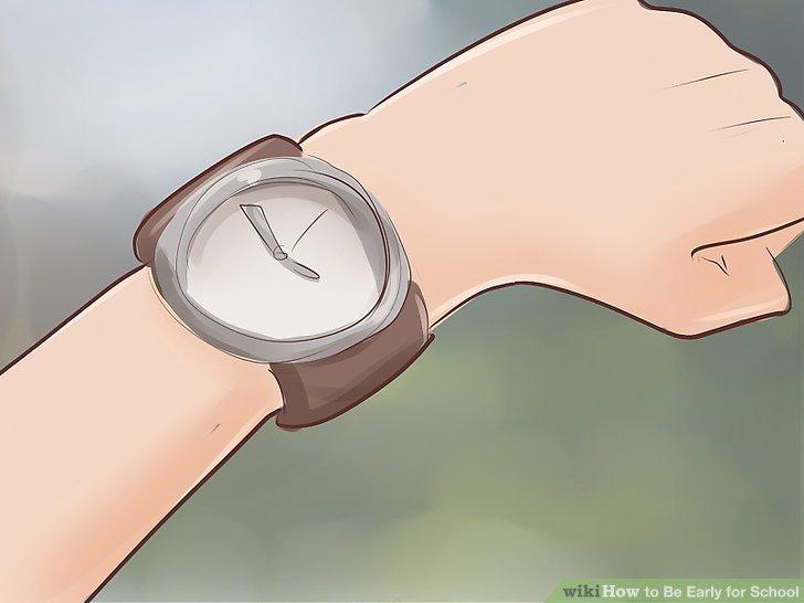 Stellen Sie Ihre Uhr schnell ein.