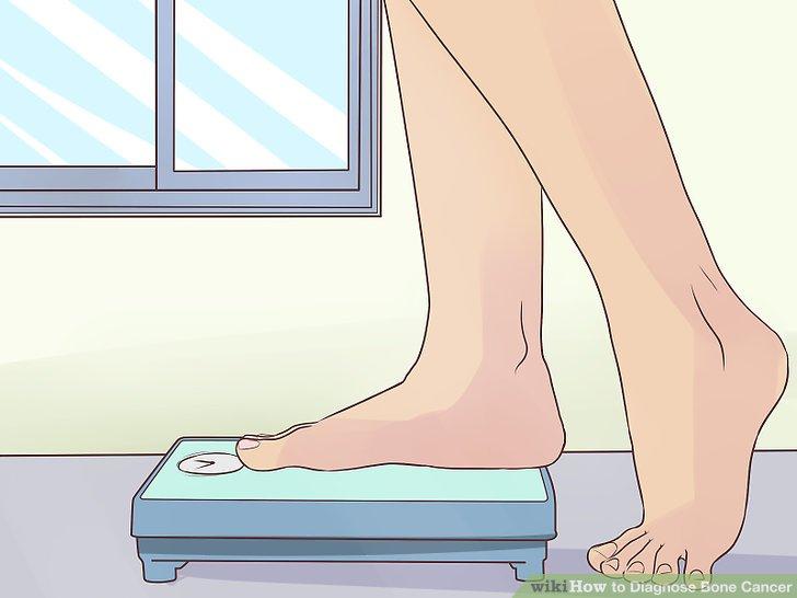 Achten Sie auf Gewichtsverlust.