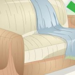 Faux Suede Sofa Cleaner 3 Seater Olx Bangalore 4 Ways To Clean Couch Pillows - Wikihow