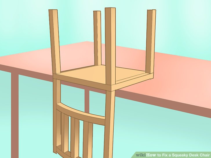 fixing wooden chairs armless accent chair how to fix a squeaky desk 12 steps with pictures image titled step 9